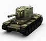 坦克射击KV2坦克
